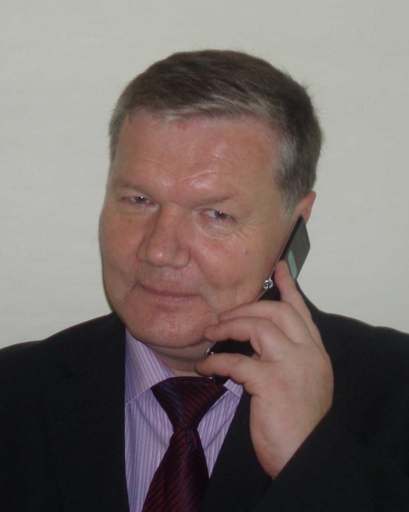 Богомолов Александр Павлович на 50-летии